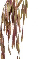 Kunst hangplant Rhipsalis bordeaux 75 cm