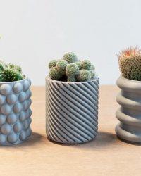 Bloempot - Bloempotjes - Bloempot binnen - Planten pot - Minimalistisch - Modern - Bloempotten - Bloempotjes klein - Huis accessoires - Cactus potje
