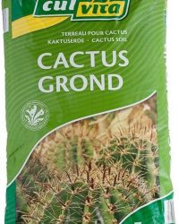 Culvita speciale grondsamenstelling voor cactussen & vetplanten - Cactusgrond - Cactuspotgrond - cactus grond - cactus potgrond - 5 liter