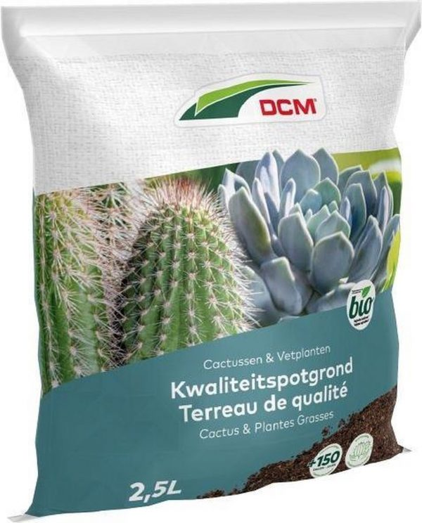 Potgrond Cactussen & Vetplanten (2,5 ltr)