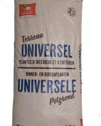 La Plaine Chassart - Universele Potgrond 50L - Oppotten van alle Soorten Binnen en Buitenplanten - Tuin, terras, Balkon, Moestuin - Groene of Bloeiende Planten, Cactussen, Citrus, ...