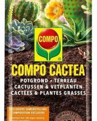 Compo Potgrond Cactussen & Vetplanten 5 L