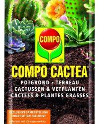 Potgrond COMPO CACTUS - 5 liter - set van 2 stuks